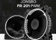 브라보텍, 강렬한 LED 튜닝 팬 쿨러 JONSBO FR-201 헥사곤/FR-301 써클링 출시