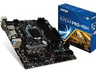 MSI, 옵테인 메모리와 MSI B250M PRO-VDH 합본 패키지 출시