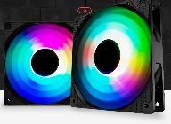 브라보텍, 화려한 RGB LED 튜닝 팬 쿨러 JONSBO FR-501 ARGB 출시