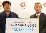 넥슨, '메이플스토리' 유저와 함께 1억 5천만 원 기부