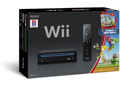 한국닌텐도, '뉴 슈퍼 마리오브라더스 Wii' 동봉 Wii 발매