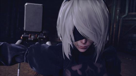 [E3] 니어: 오토마타, 트레일러와 보스 배틀 영상