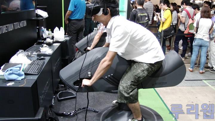 [TGS] 'INFINITY RIDER VR' 플레이 캠 동영상