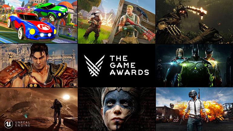 게임 어워드 2017 빛낸 언리얼 엔진 게임들