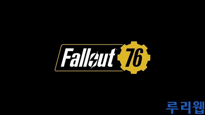 [E3] '폴아웃 76' 트레일러 동영상