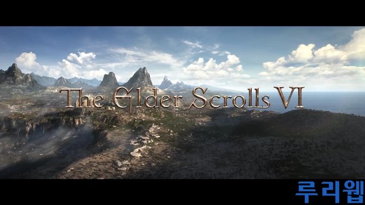[E3] '엘더스크롤 VI' 트레일러 동영상